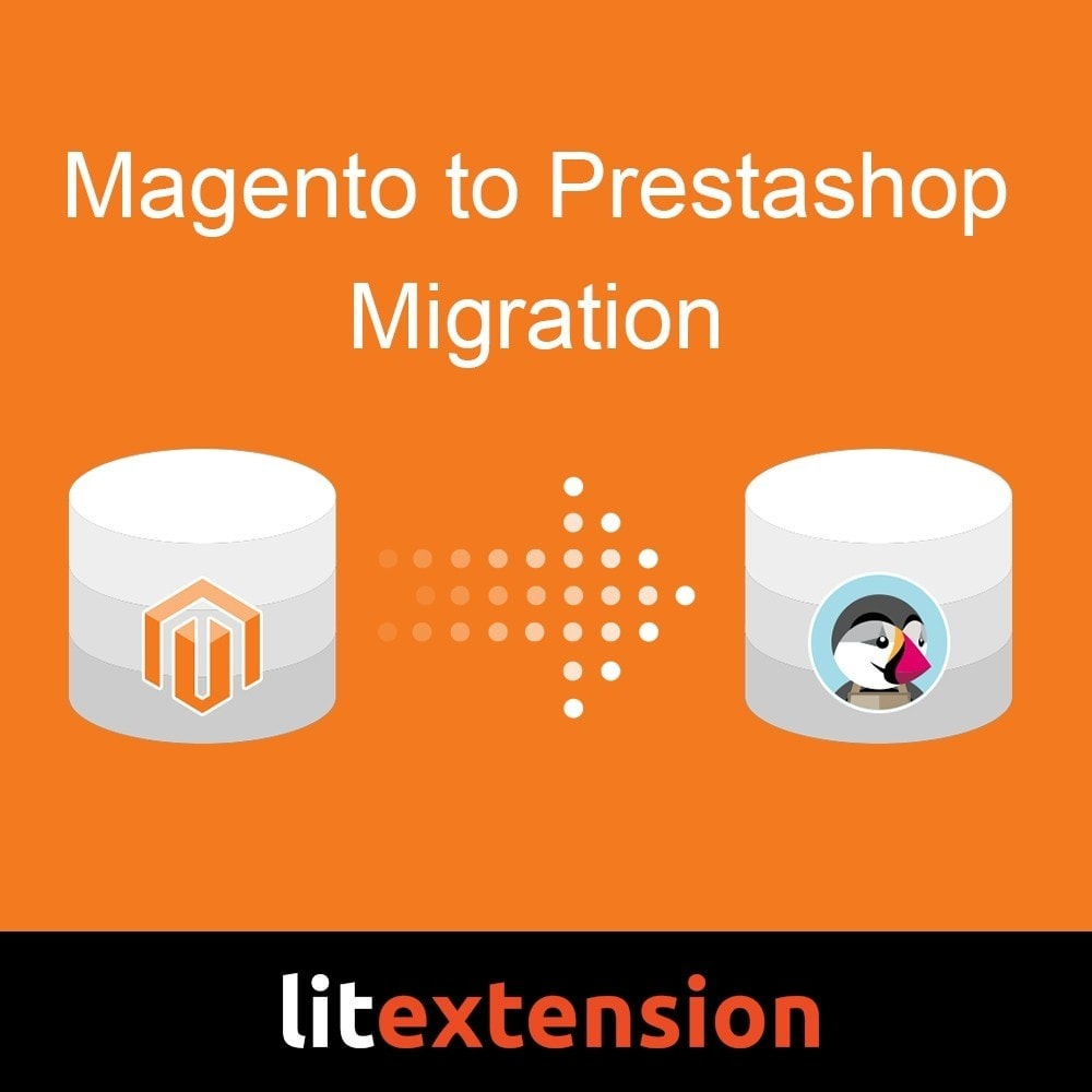 module - Migratie & Backup - LitExtension: Magento to Prestashop Migration - 1