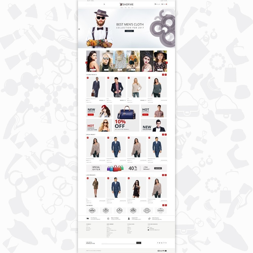 theme - Moda y Calzado - Shopme Fashion - 2