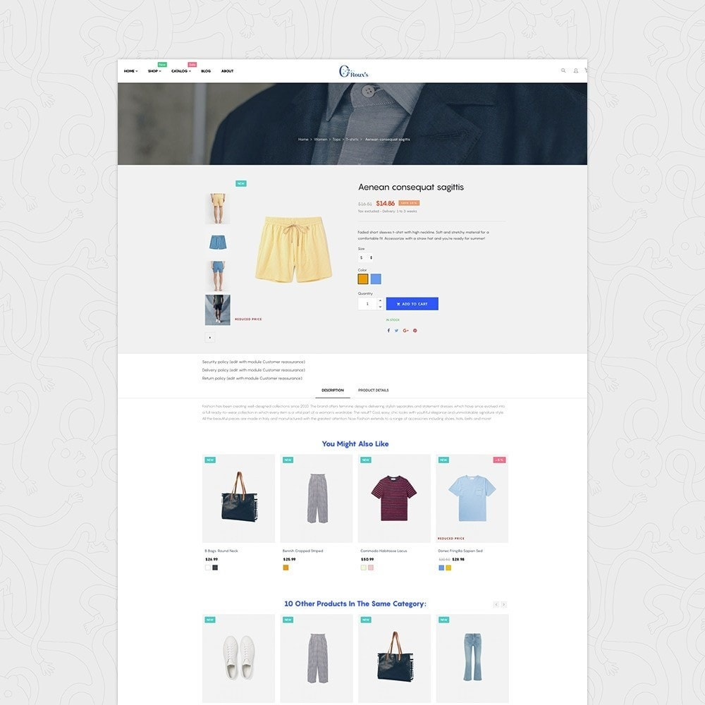 theme - Mode & Schoenen - O2 Fashion Store Responsive Multiple Prestashop Theme - 3