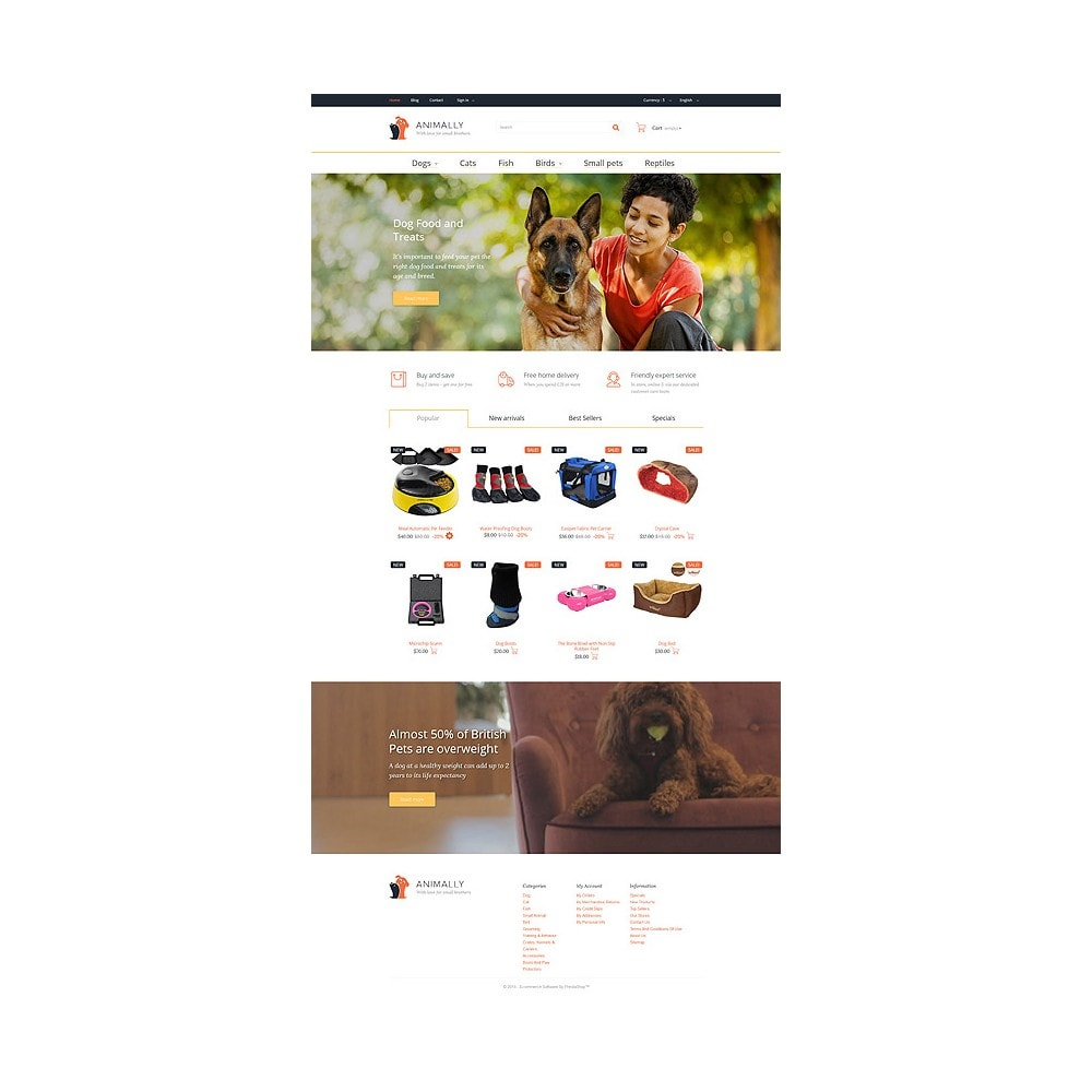 theme - Template PrestaShop - Animally - 10