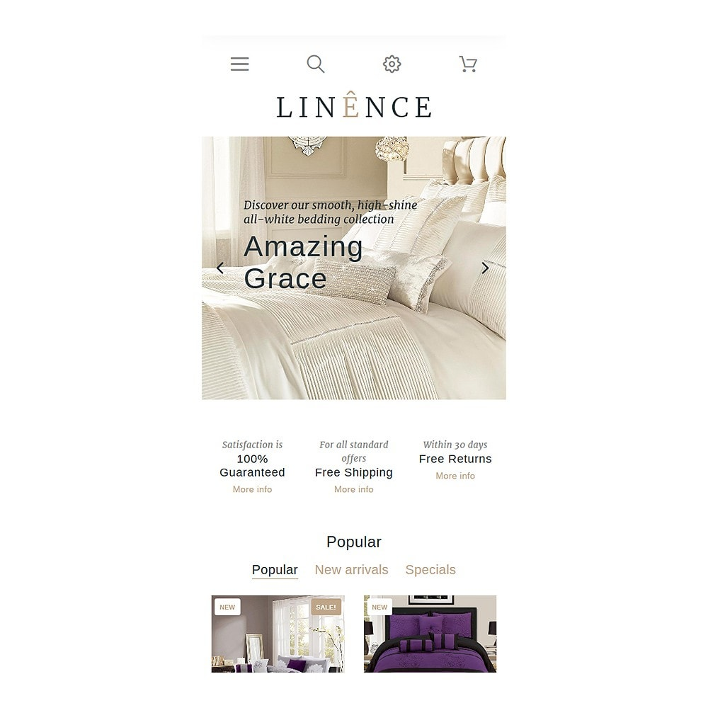 theme - Мода и обувь - Linence - Bed Linen - 8