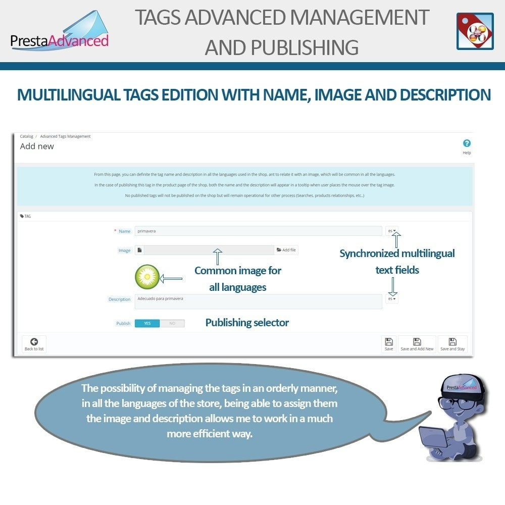 module - Odznaki & Logo - Tags: Advanced Management and Publishing - 4