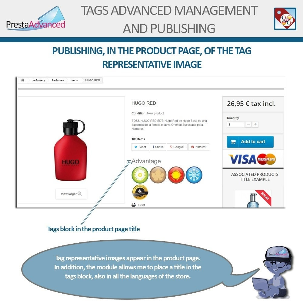 module - Odznaki & Logo - Tags: Advanced Management and Publishing - 11