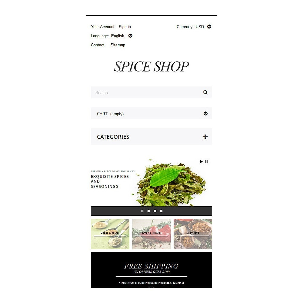 theme - Eten & Restaurant - Spices and Seasonings - 8