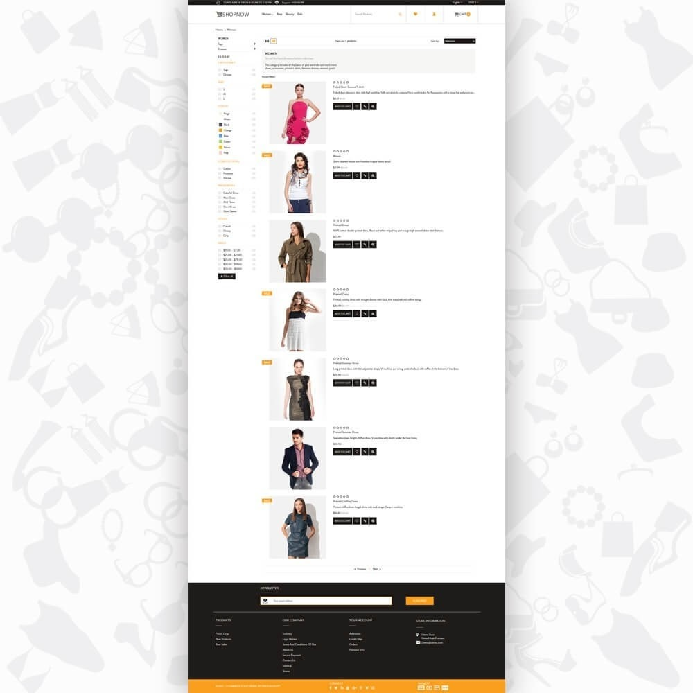 theme - Moda & Calzature - ShopNow V2 - Fashion - 4