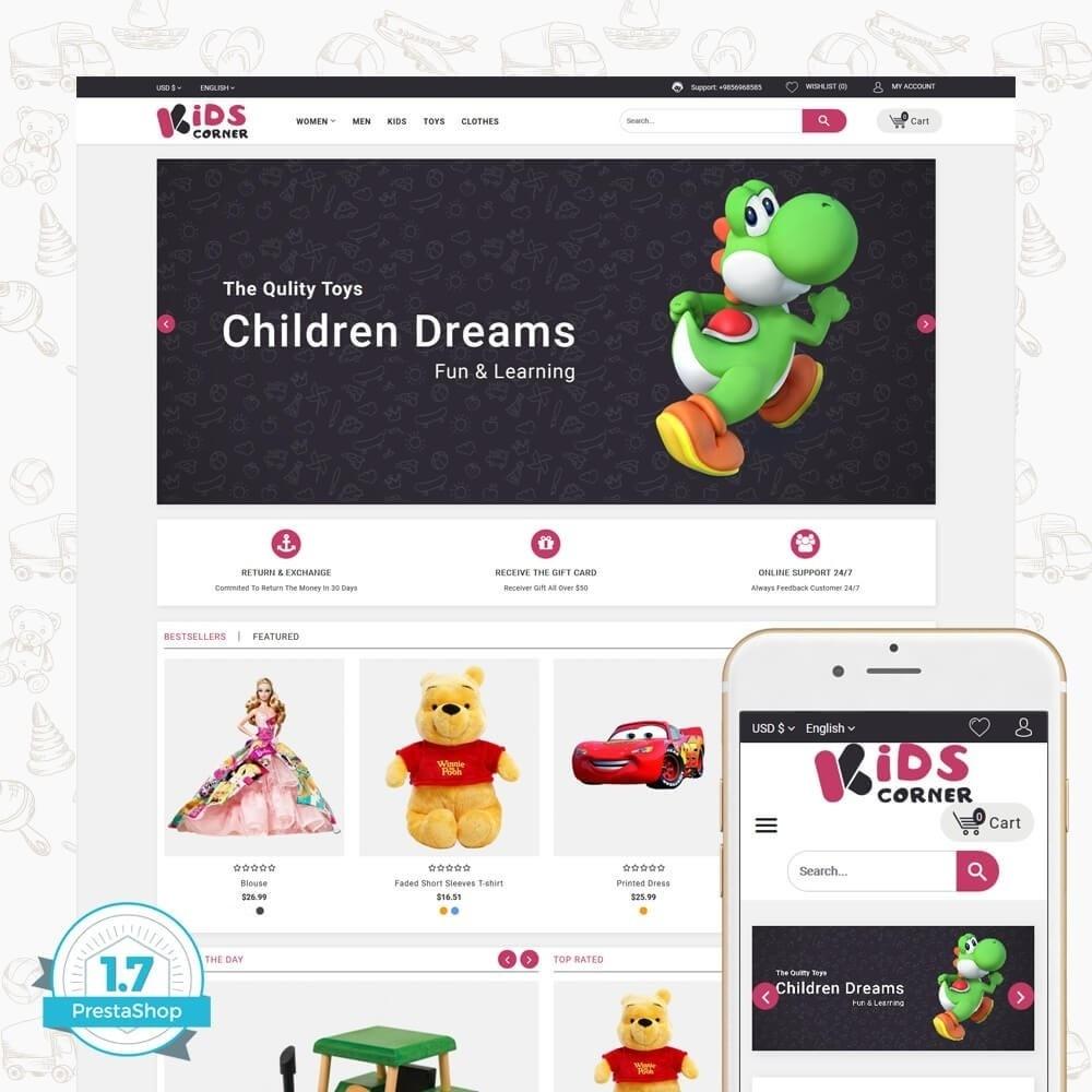 theme - Crianças & Brinquedos - Kids Corner - 1