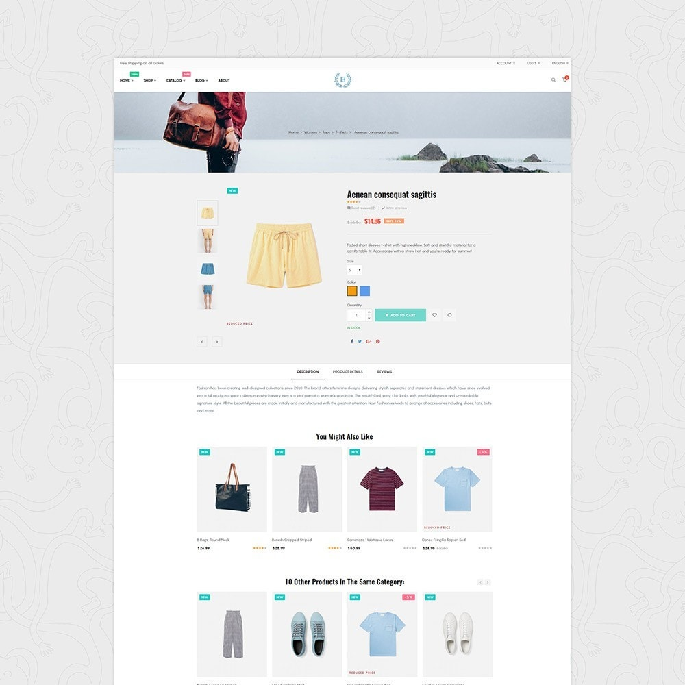 theme - Mode & Chaussures - H2 Fashion Store Responsive Multiple Prestashop Theme - 3