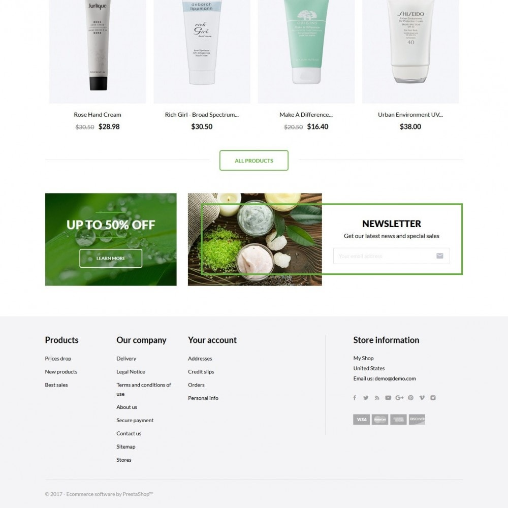 theme - Zdrowie & Uroda - Brilliance Cosmetics - 3