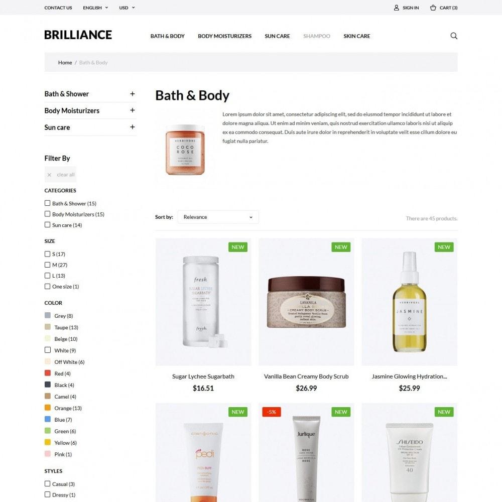 theme - Zdrowie & Uroda - Brilliance Cosmetics - 4