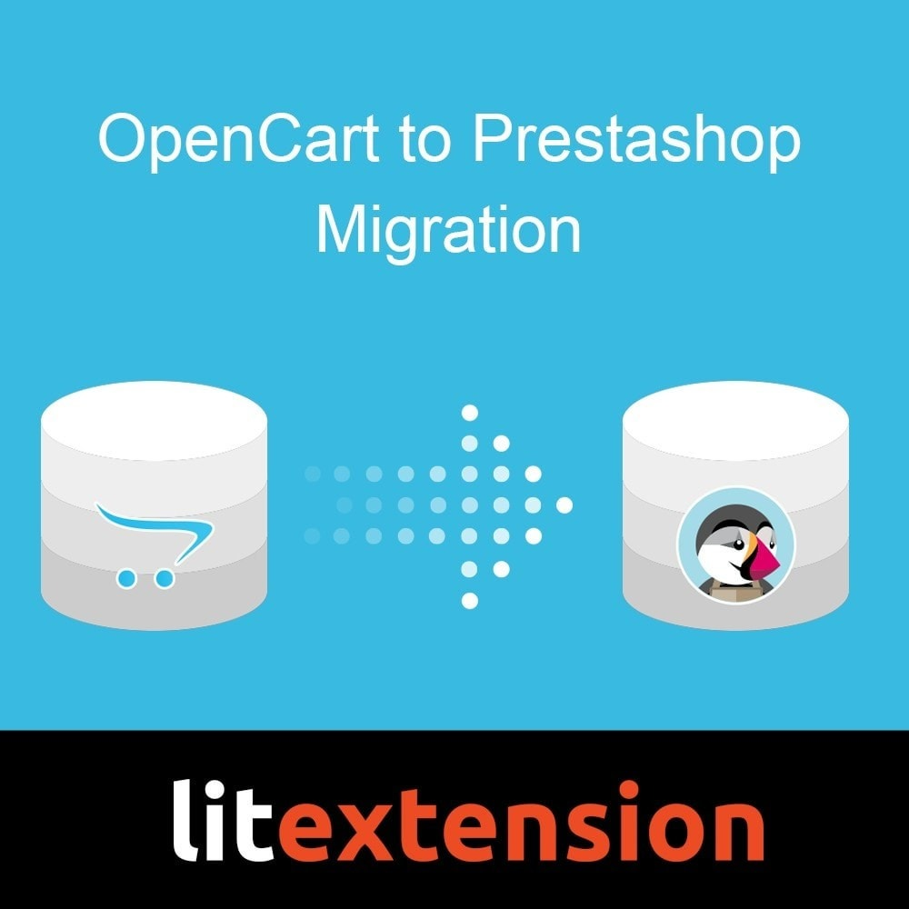 module - Migración y Copias de seguridad - LitExtension: OpenCart to Prestashop Migration - 1