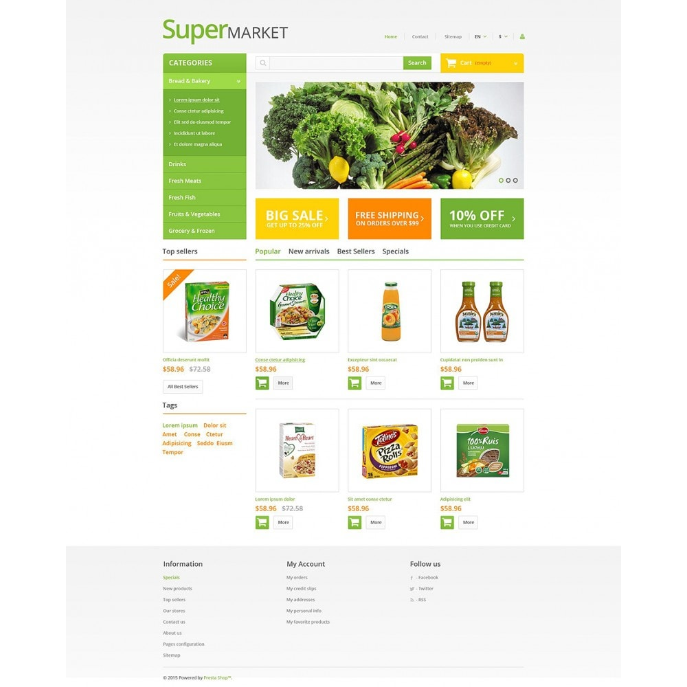 theme - Eten & Restaurant - Supermarket - 2