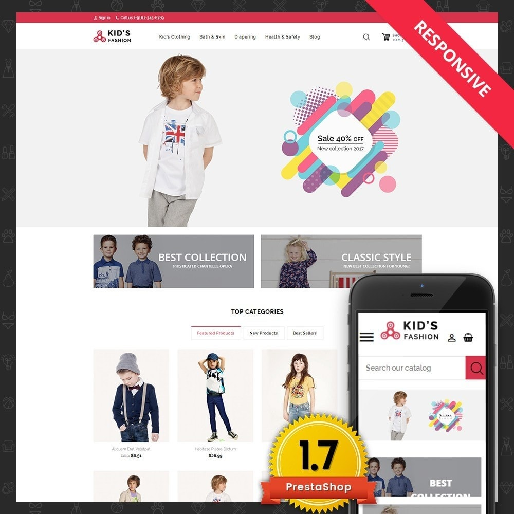 theme - Moda & Calzature - Kids Fashion - 1