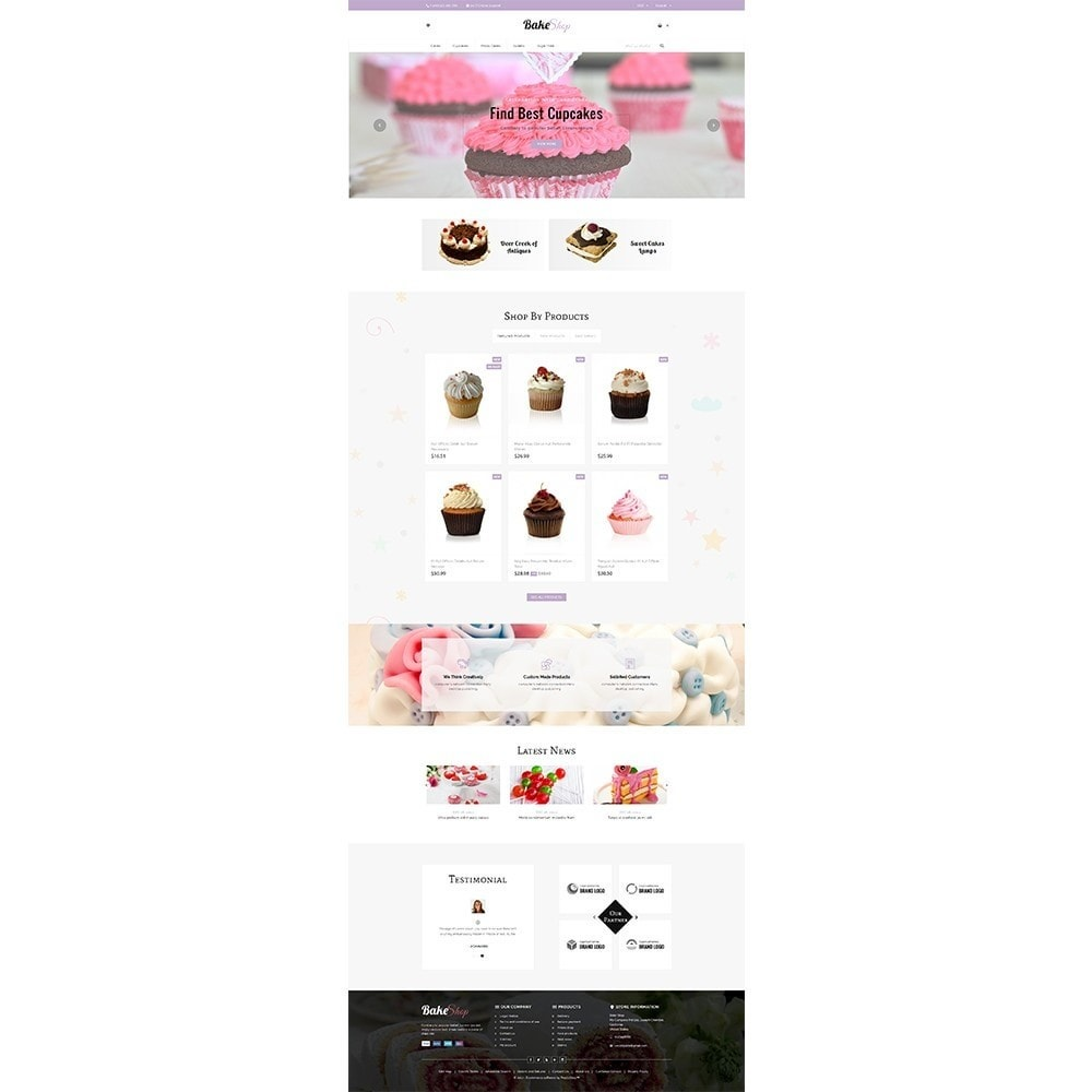 theme - Food & Restaurant - Bake Shop - 2