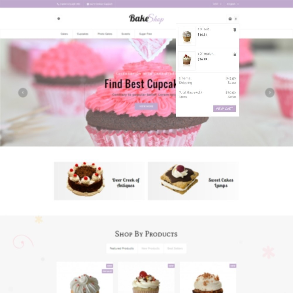 theme - Food & Restaurant - Bake Shop - 6