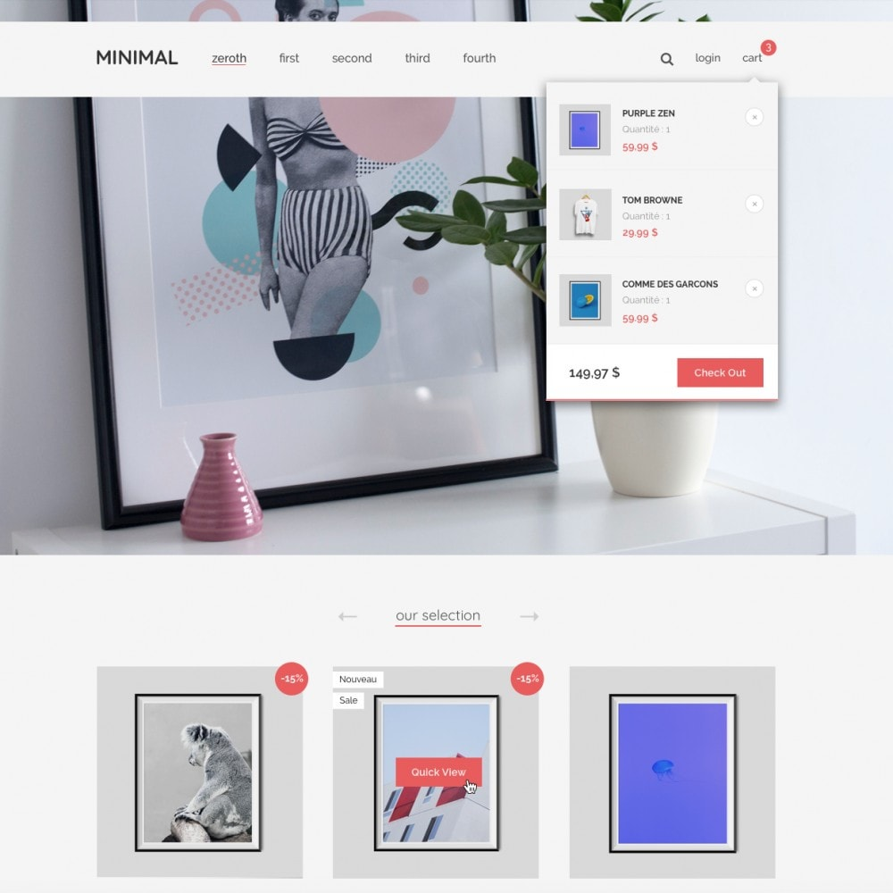 theme - Home & Garden - Minimal by PrestaShop - Style & Decoration - 4
