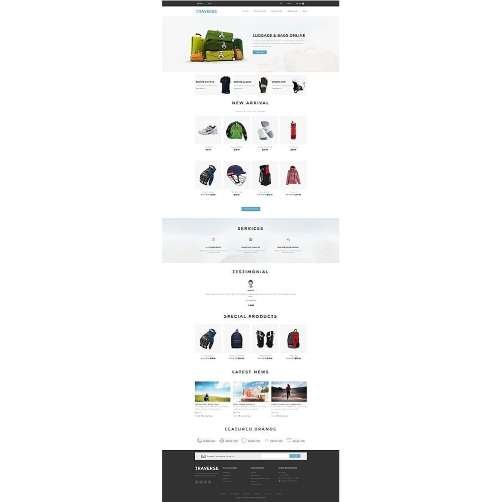 theme - Sports, Activities & Travel - Traverse Store - 2