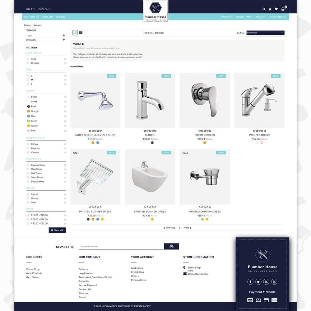 theme - Casa & Giardino - Plumber Store - 3