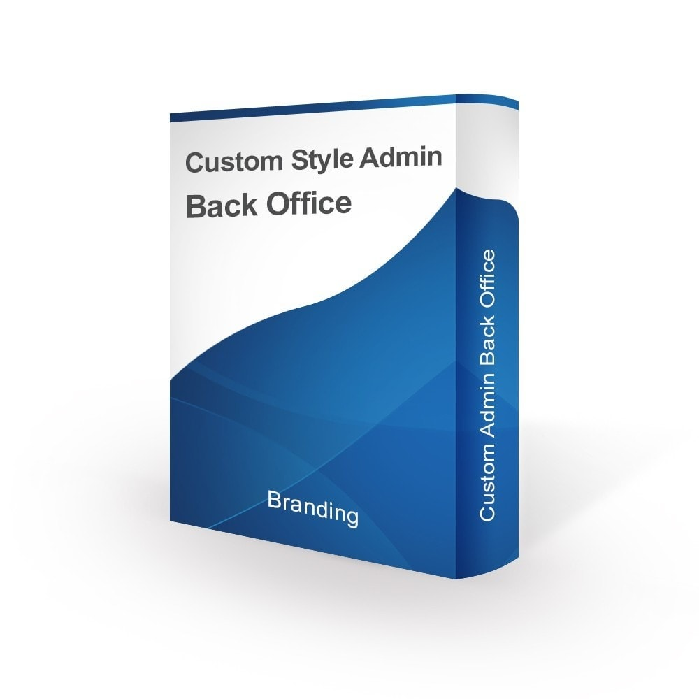 module - Personalizacja strony - Design Style for Admin Back Office and Login Page - 1