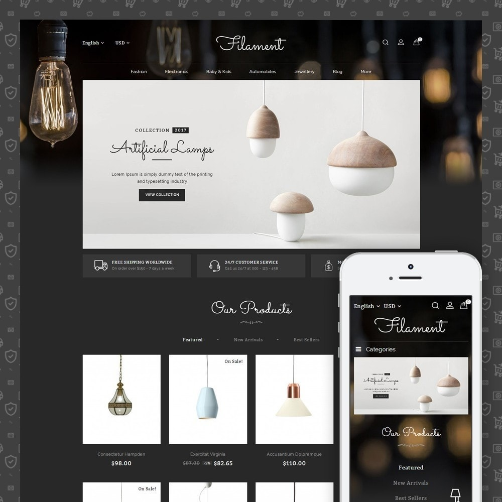 theme - Maison & Jardin - Filament - Lighting Store - 1