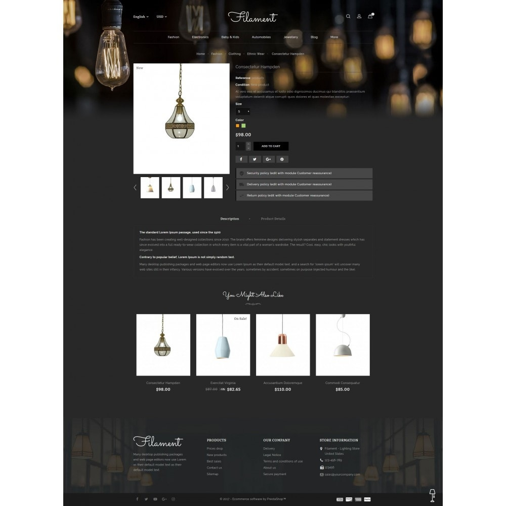 theme - Heim & Garten - Filament - Lighting Store - 5