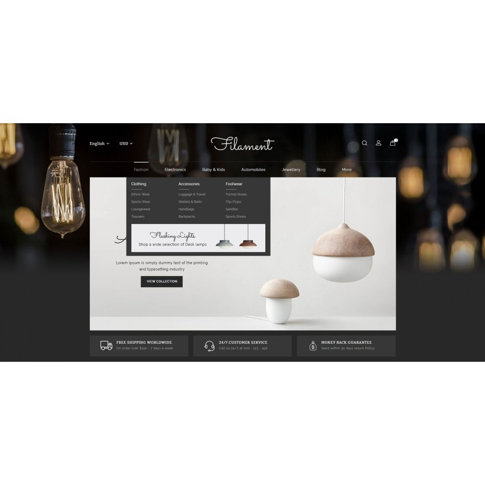 theme - Home & Garden - Filament - Lighting Store - 6