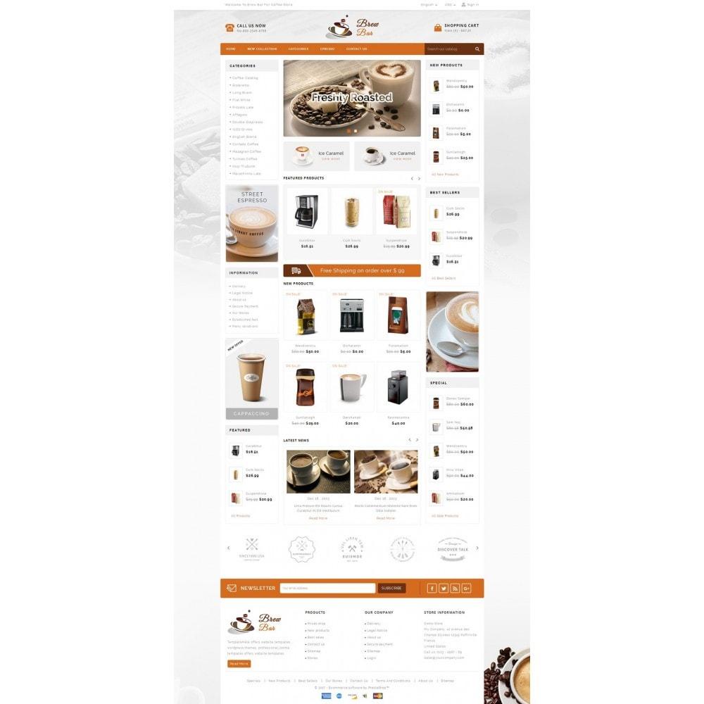 theme - Alimentation & Restauration - Brew Bar - Coffee Store - 2