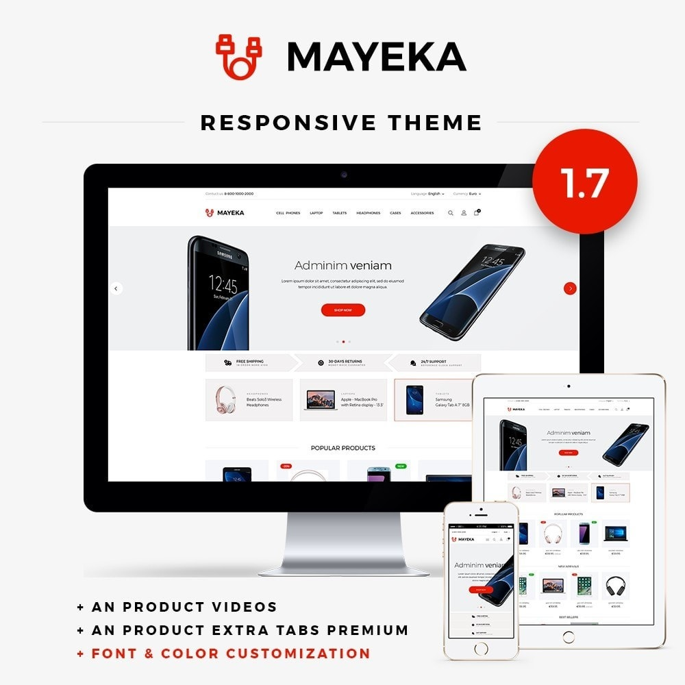theme - Elektronik & High Tech - Mayeka - High-tech Shop - 1
