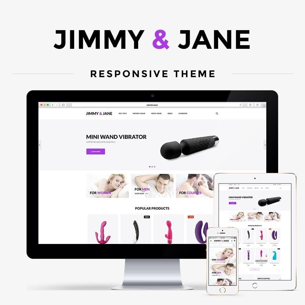 theme - Lingerie & Adult - Jimmy&Jane - SexShop - 1