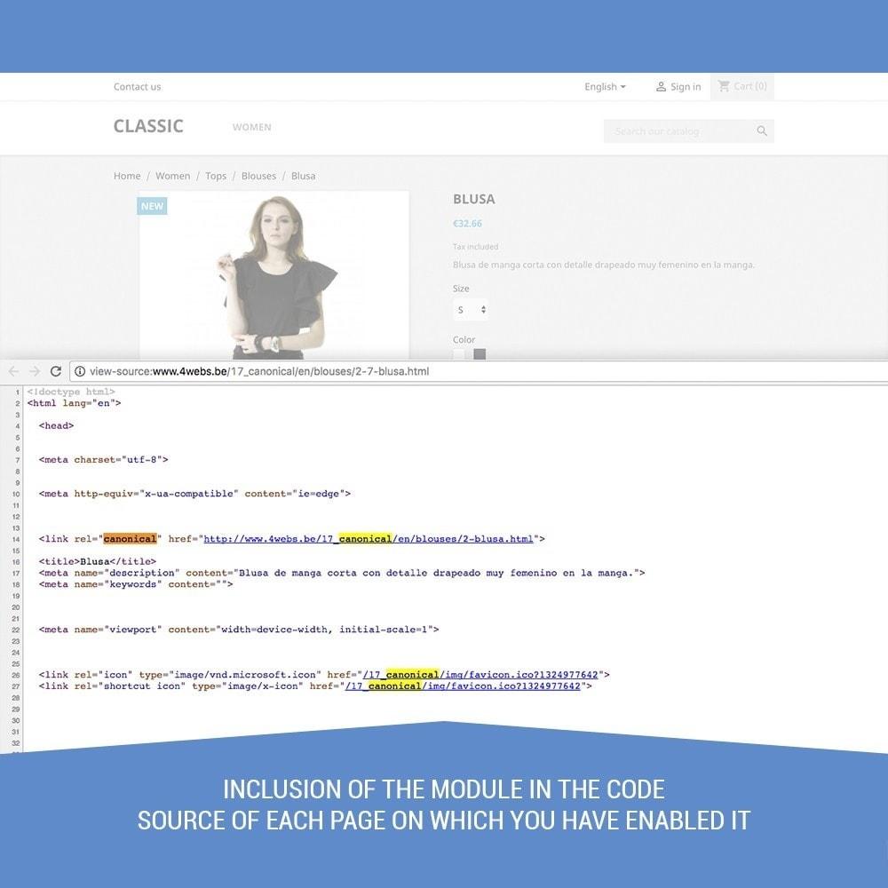 module - URL & Omleidingen - Canonical SEO - 5