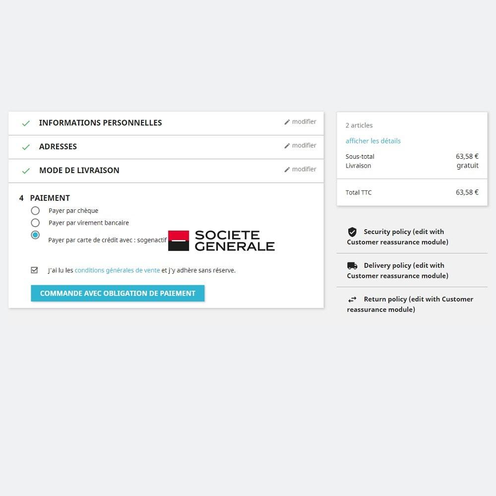 module - Paiement par Carte ou Wallet - Sips 2.0 - Atos Worldline (1.5, 1.6 & 1.7) - 5