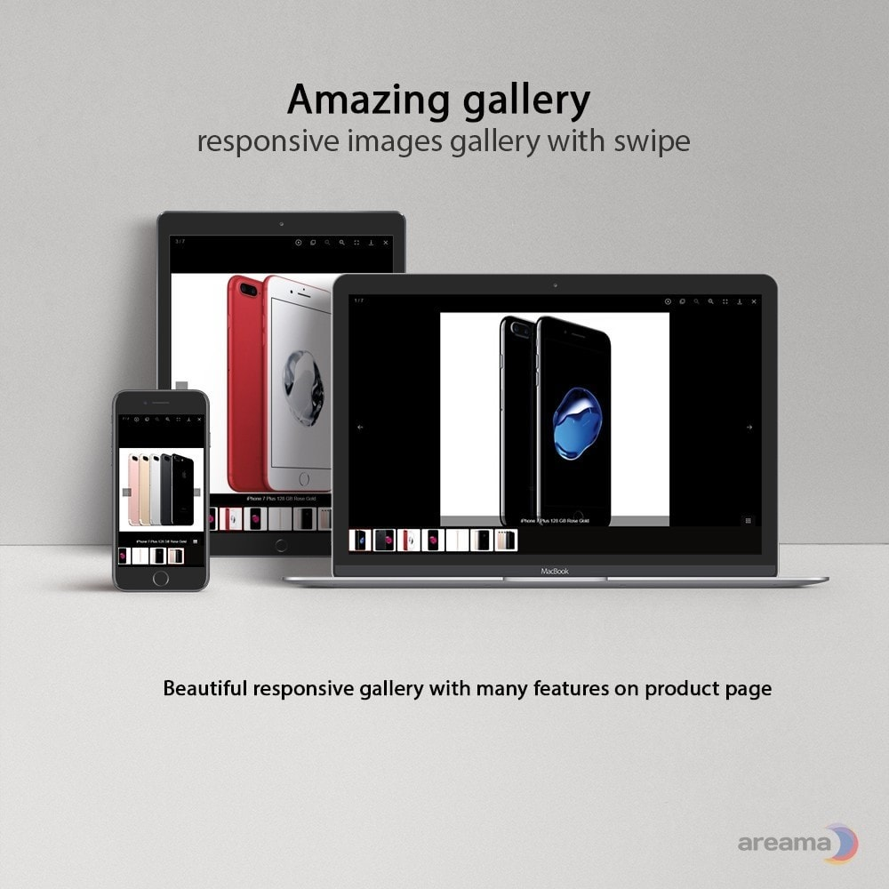 module - Sliders & Galerias - Amazing gallery: responsive images gallery with swipe - 1