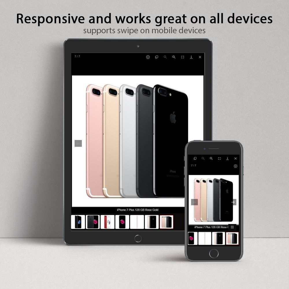 module - Sliders & Galerias - Amazing gallery: responsive images gallery with swipe - 3