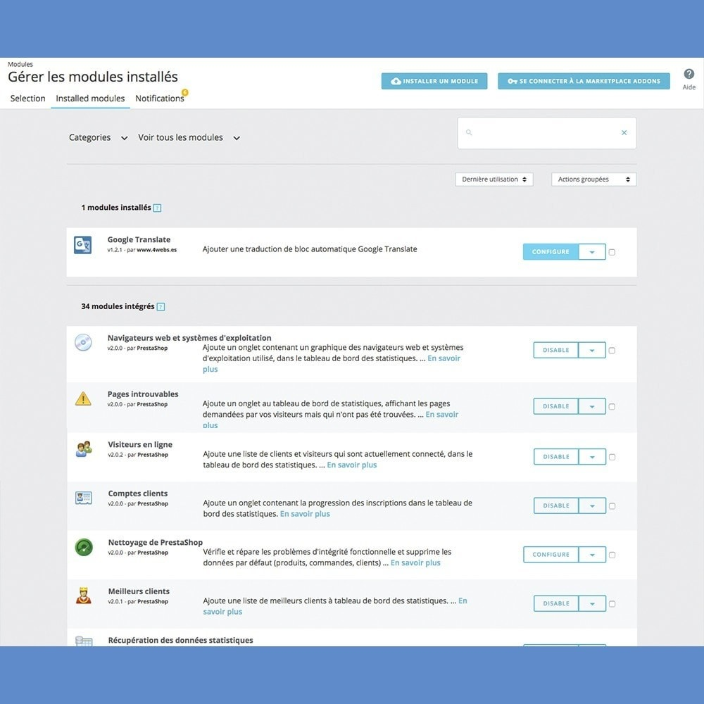 module - International & Localisation - Google Translate Block - 3