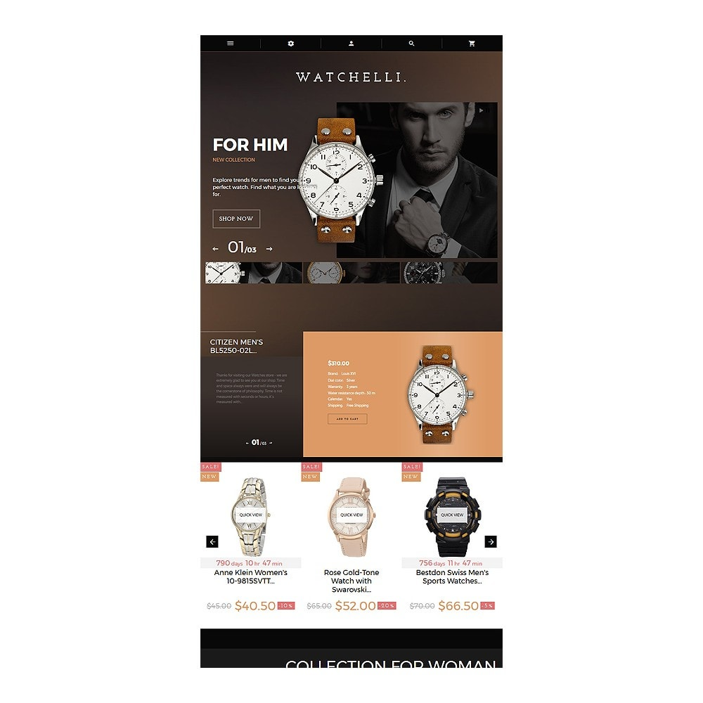 theme - Moda & Obuwie - Watchelli - Luxury Watches Store - 8