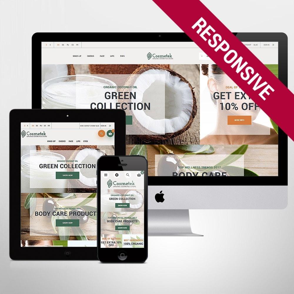 theme - Mode & Schuhe - Cosmetek - Organic Cosmetics Store - 1