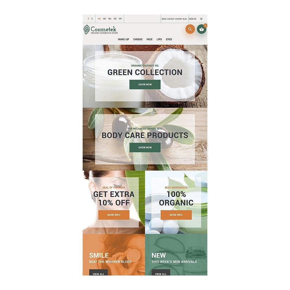 theme - Mode & Schuhe - Cosmetek - Organic Cosmetics Store - 8