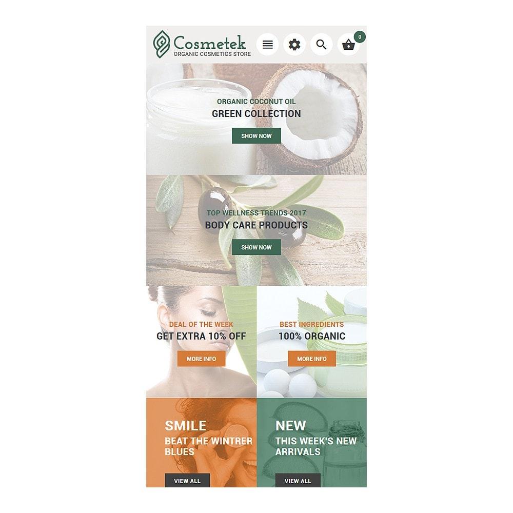 theme - Mode & Schuhe - Cosmetek - Organic Cosmetics Store - 9
