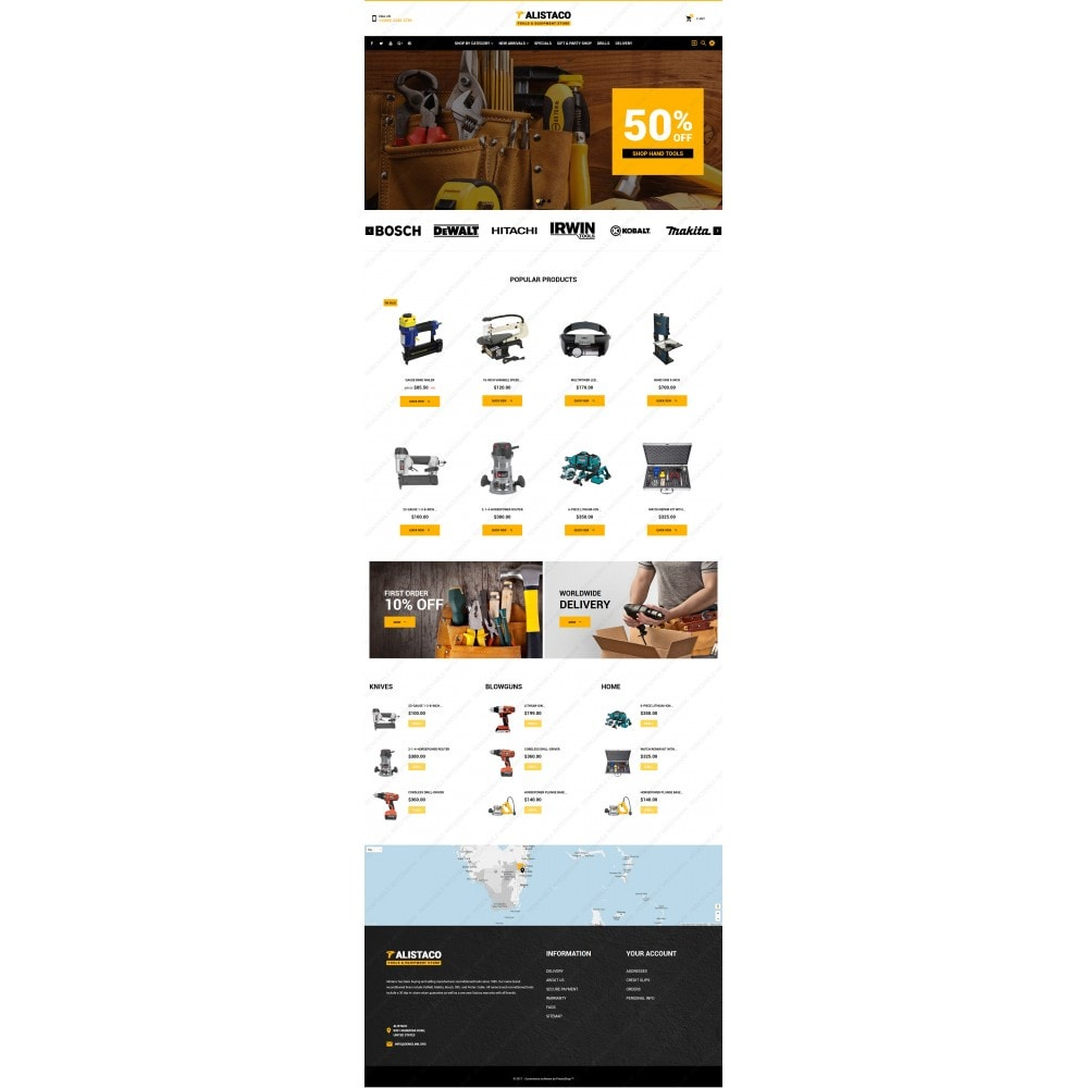 theme - Casa & Giardino - Alistaco - Tools & Equipment Store - 3