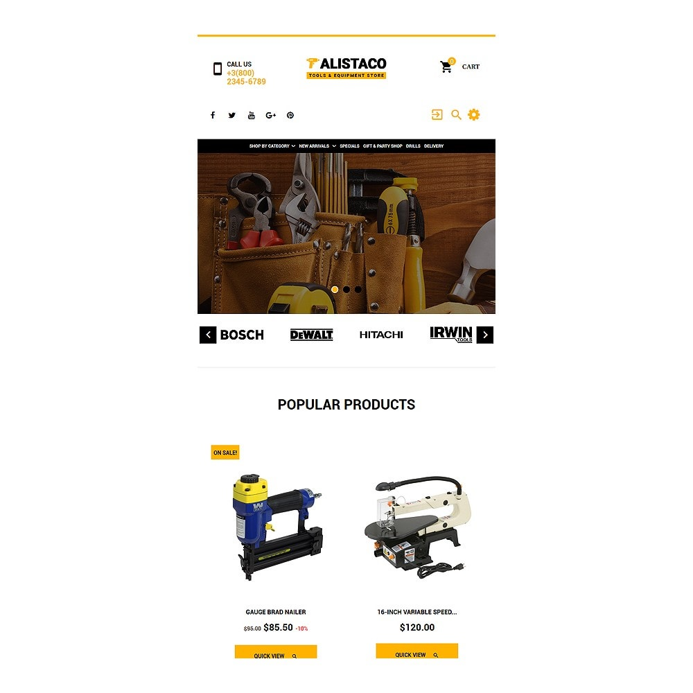 theme - Casa & Giardino - Alistaco - Tools & Equipment Store - 8