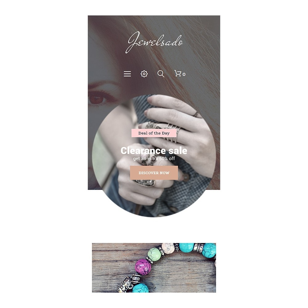 theme - Мода и обувь - Jewelsado - Jewelry Template - 7