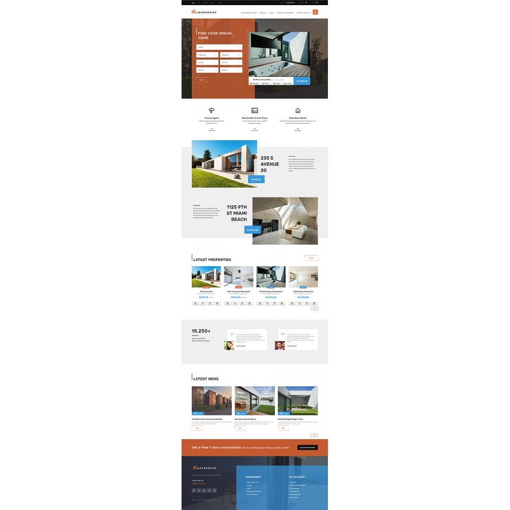 theme - Дом и сад - Leuendano - Real Estate Agency Responsive - 9