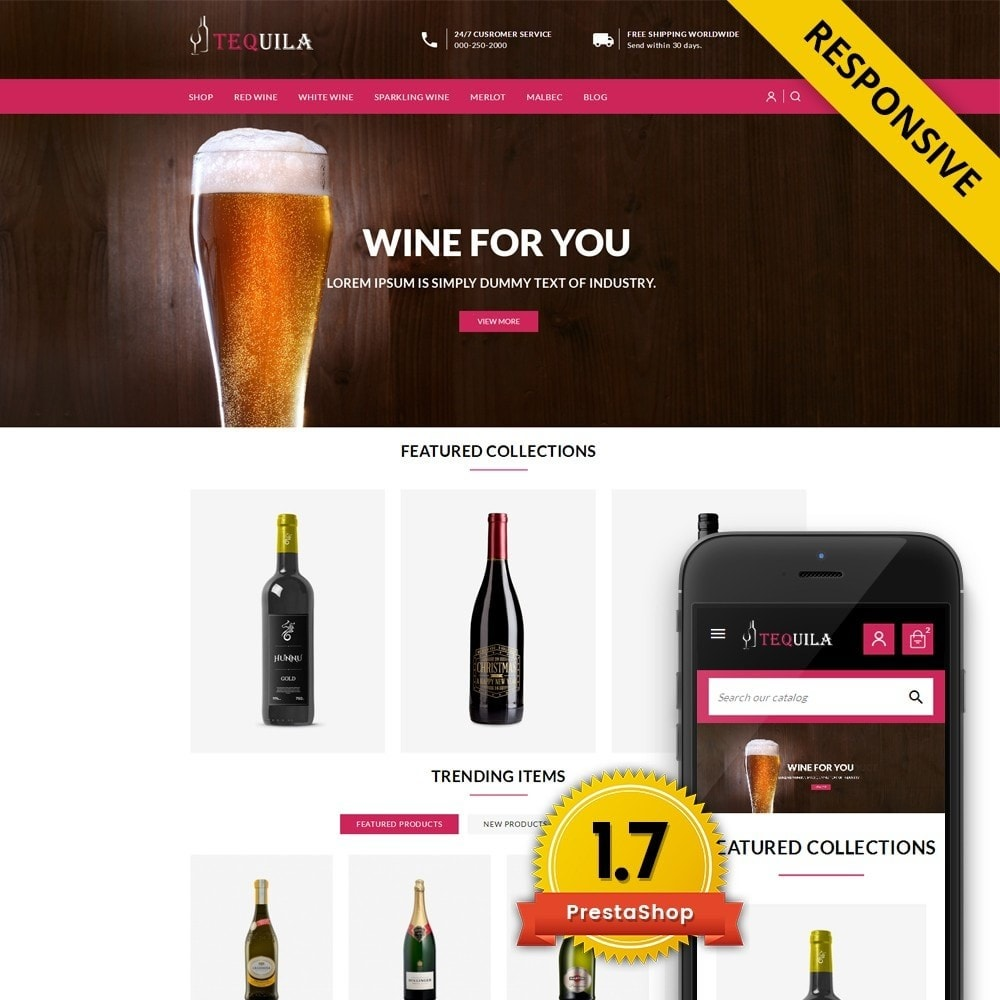 theme - Drink & Wine - Tequila - The Wine Store - 1