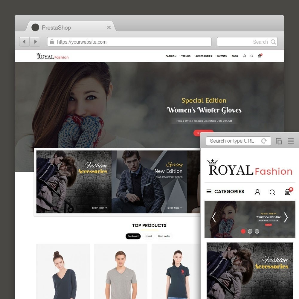 theme - Mode & Chaussures - Royal Fashion Store - 1
