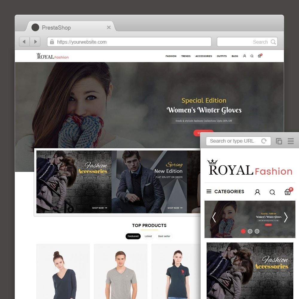theme - Moda y Calzado - Royal Fashion Store - 1