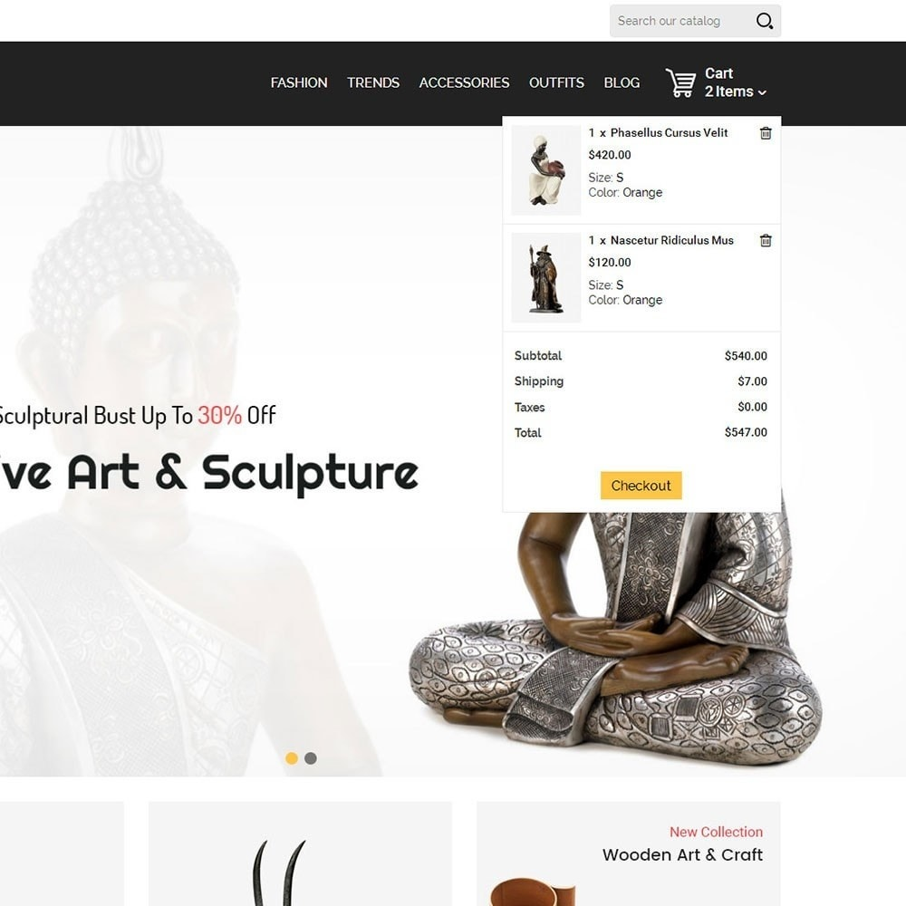theme - Art & Culture - Infinity Sculpture Store - 7