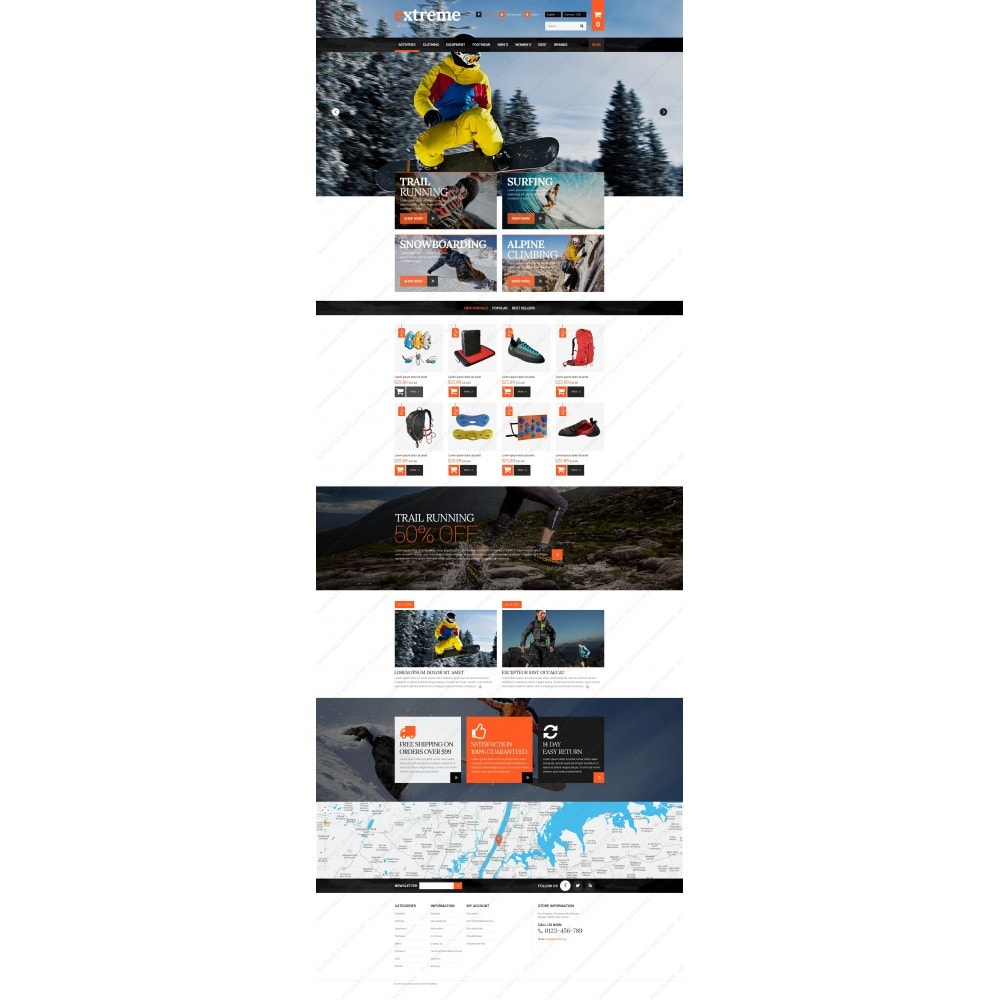 theme - Sport, Attività & Viaggi - Extreme Clothes & Gear - 3