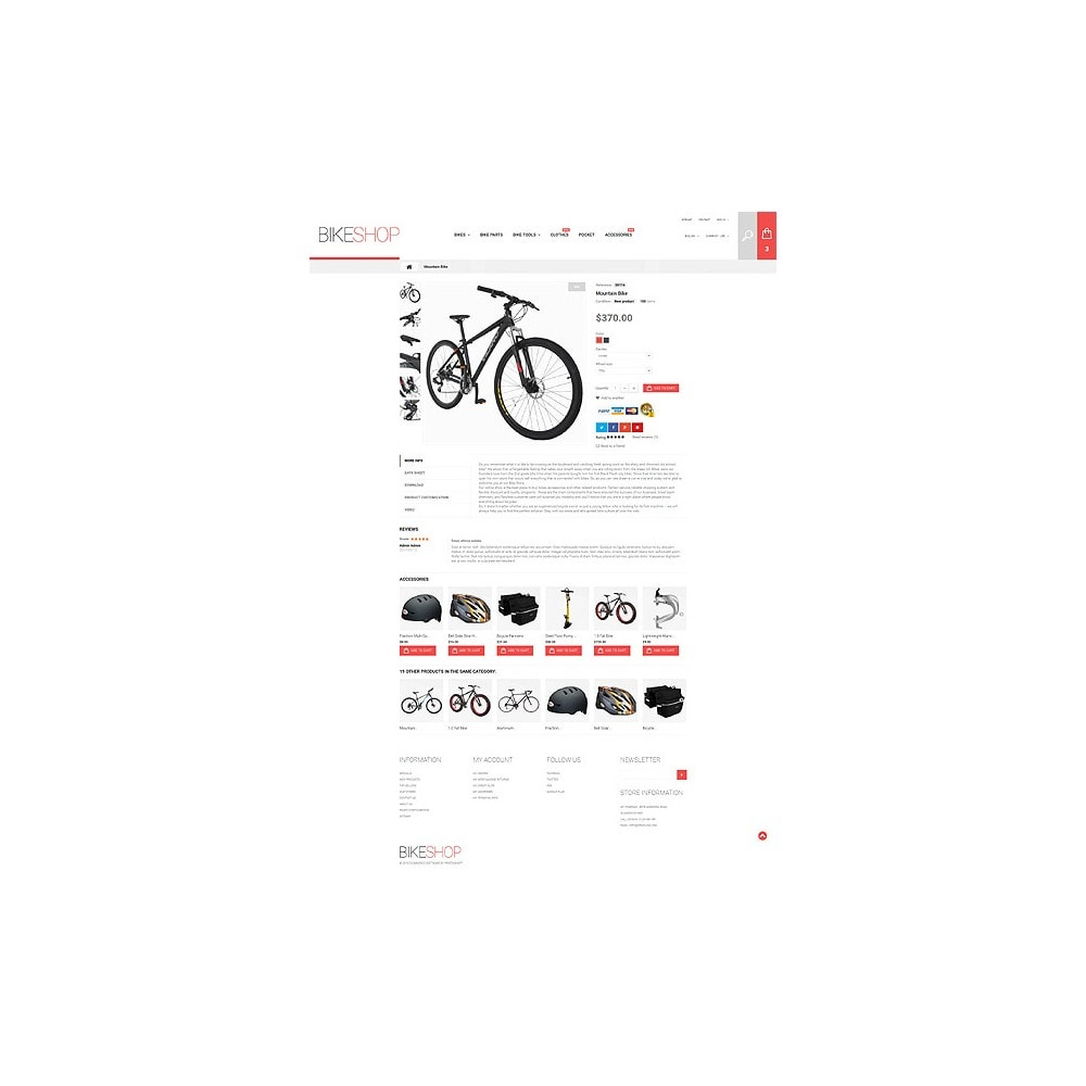 theme - Automotive & Cars - BikeShop - 7