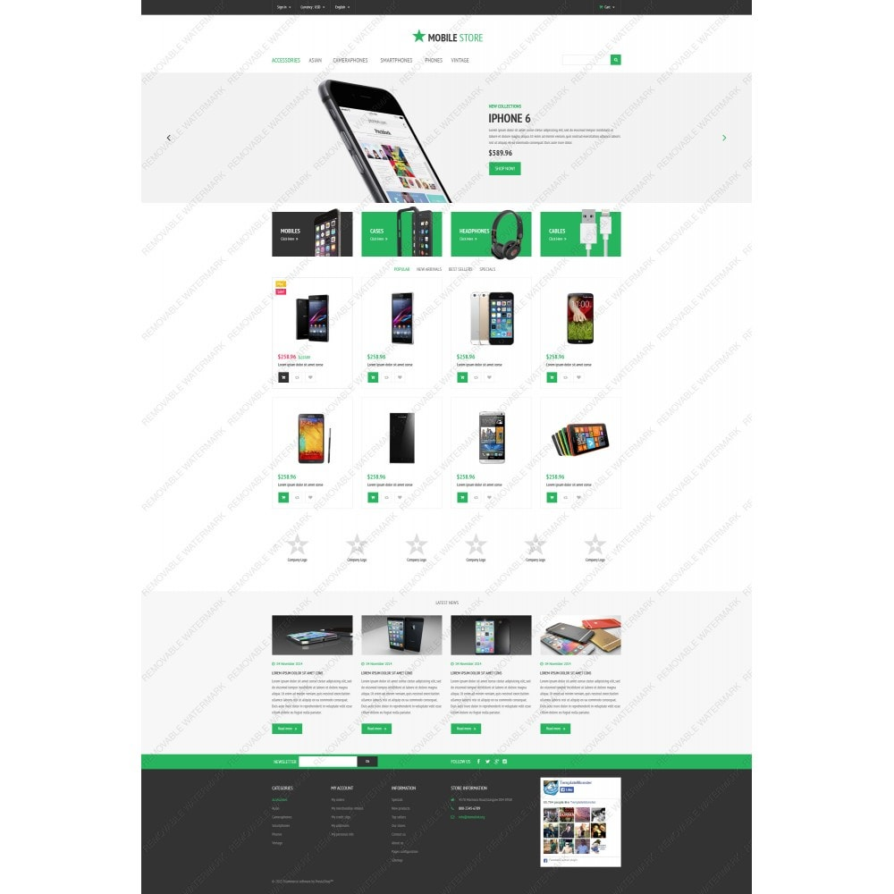 theme - Elektronica & High Tech - Mobile Store - 5