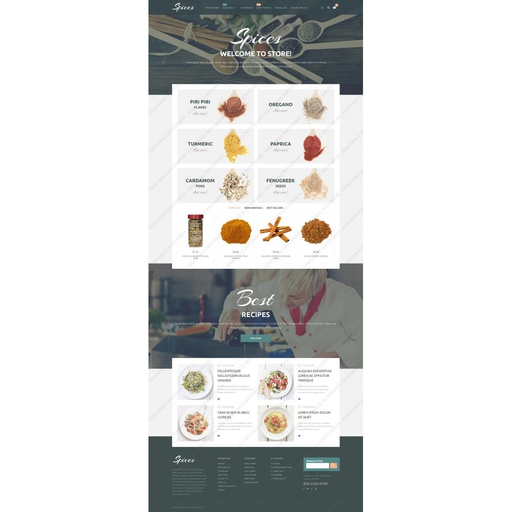 theme - Eten & Restaurant - Spice Shop - 3