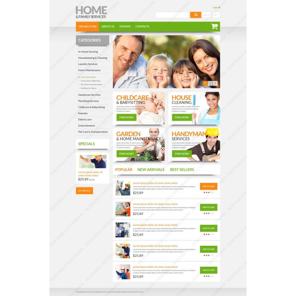 theme - Maison & Jardin - Home & Family Services - 5